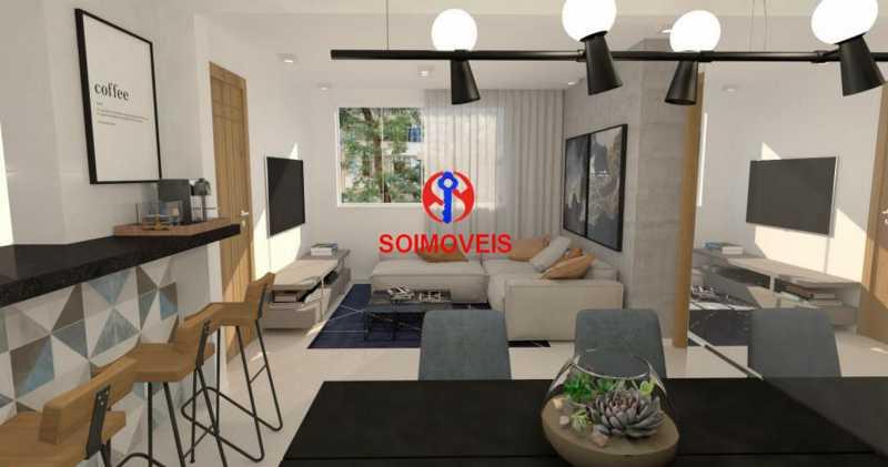 Sala - Casa de Vila 5 quartos à venda Tijuca, Rio de Janeiro - R$ 1.150.000 - TJCV50003 - 16