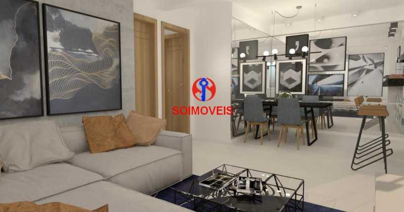 Sala - Casa de Vila 5 quartos à venda Tijuca, Rio de Janeiro - R$ 1.150.000 - TJCV50003 - 17