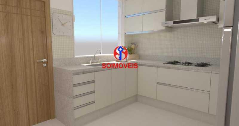 Cozinha - Casa de Vila 5 quartos à venda Tijuca, Rio de Janeiro - R$ 1.150.000 - TJCV50003 - 11