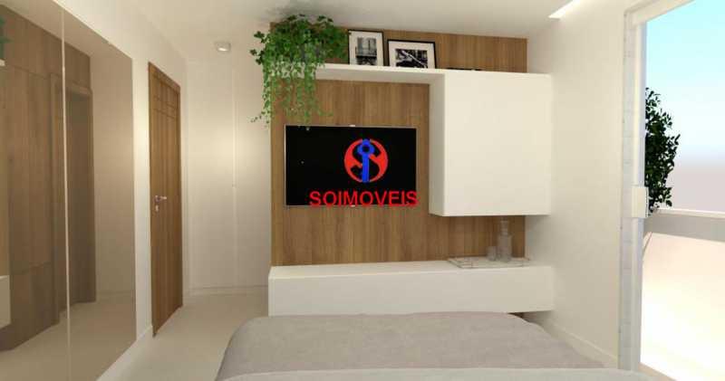 Suite 02 - Casa de Vila 5 quartos à venda Tijuca, Rio de Janeiro - R$ 1.150.000 - TJCV50003 - 9