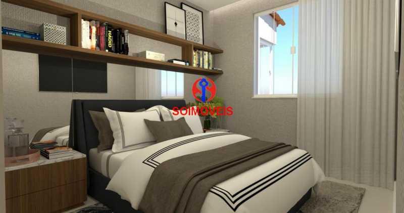 Suite 01 - Casa de Vila 5 quartos à venda Tijuca, Rio de Janeiro - R$ 1.150.000 - TJCV50003 - 12
