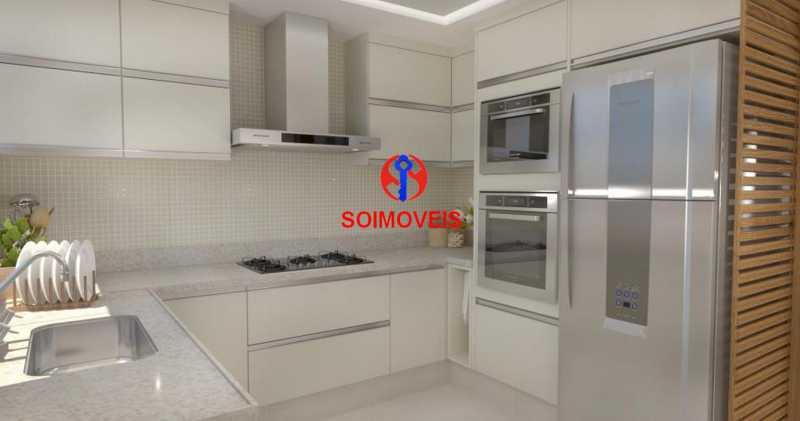 Cozinha - Casa de Vila 5 quartos à venda Tijuca, Rio de Janeiro - R$ 1.150.000 - TJCV50003 - 23