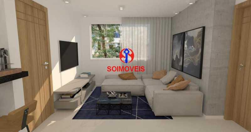 Sala - Casa de Vila 5 quartos à venda Tijuca, Rio de Janeiro - R$ 1.150.000 - TJCV50003 - 20