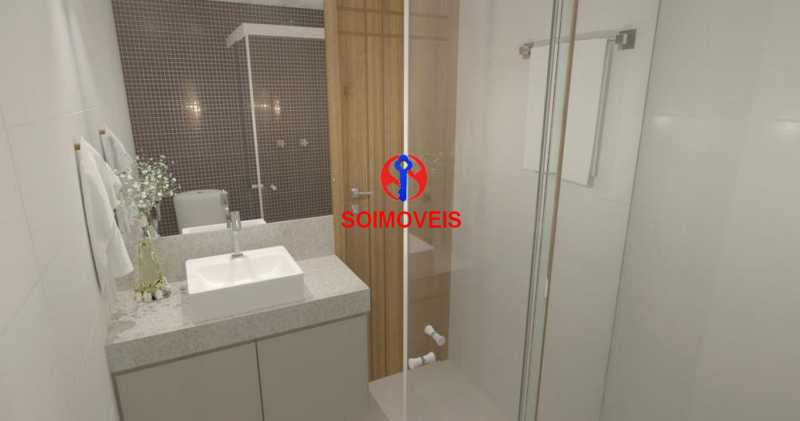 Banheiro - Casa de Vila 5 quartos à venda Tijuca, Rio de Janeiro - R$ 1.150.000 - TJCV50003 - 29