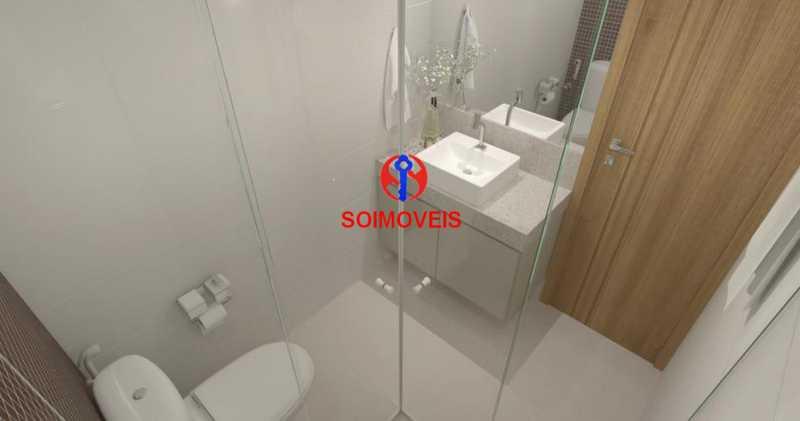 Banheiro - Casa de Vila 5 quartos à venda Tijuca, Rio de Janeiro - R$ 1.150.000 - TJCV50003 - 30