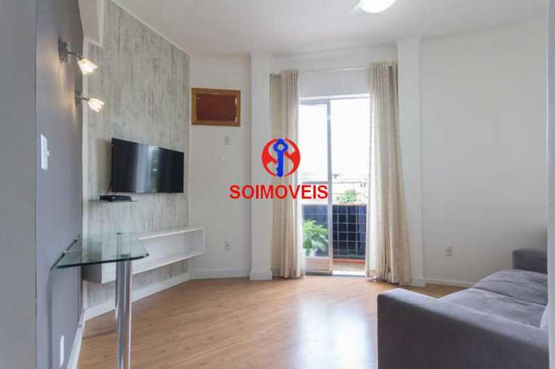 Sala - Apartamento 2 quartos à venda Engenho Novo, Rio de Janeiro - R$ 249.000 - TJAP21208 - 9