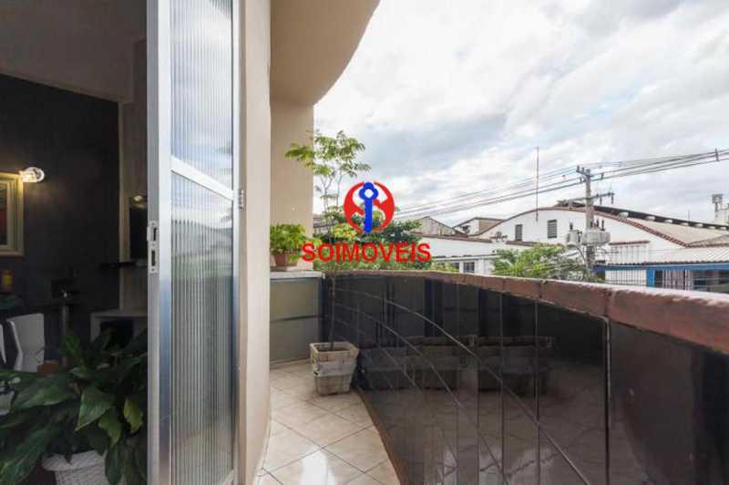 Varanda - Apartamento 2 quartos à venda Engenho Novo, Rio de Janeiro - R$ 249.000 - TJAP21208 - 1