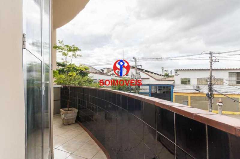 Varanda - Apartamento 2 quartos à venda Engenho Novo, Rio de Janeiro - R$ 249.000 - TJAP21208 - 3
