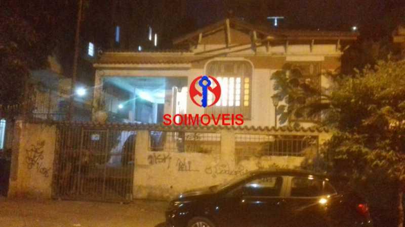 0-fac - Casa 4 quartos à venda Vila Isabel, Rio de Janeiro - R$ 735.000 - TJCA40035 - 1