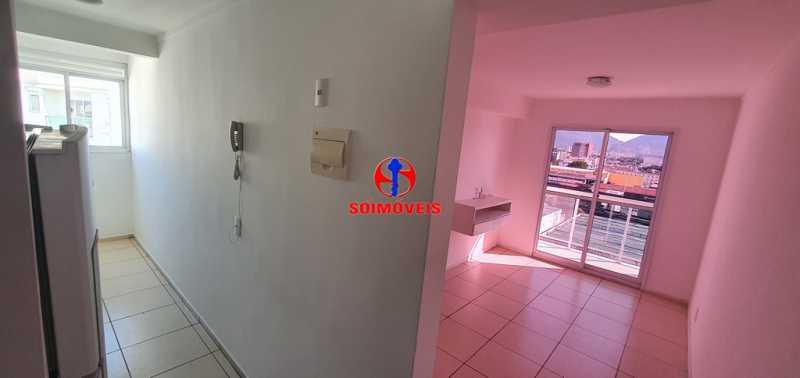 ENTRADA - Apartamento 2 quartos à venda São Cristóvão, Rio de Janeiro - R$ 410.000 - TJAP21214 - 3