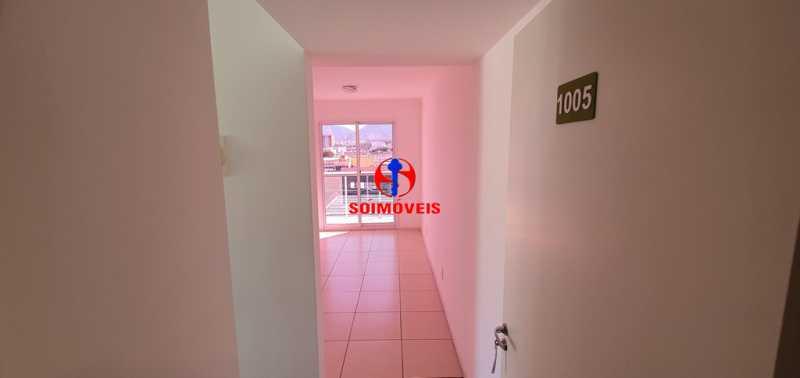 ENTRADA - Apartamento 2 quartos à venda São Cristóvão, Rio de Janeiro - R$ 410.000 - TJAP21214 - 1