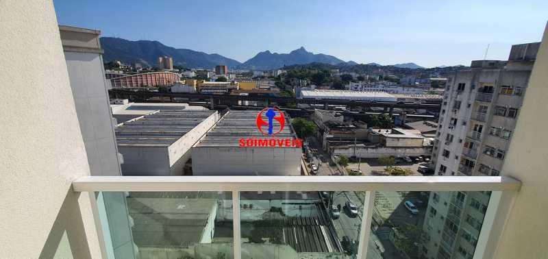 VISTA DA VARANDA - Apartamento 2 quartos à venda São Cristóvão, Rio de Janeiro - R$ 410.000 - TJAP21214 - 5