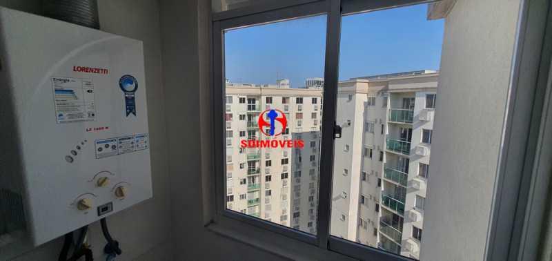 ÁREA DE SERVIÇO - Apartamento 2 quartos à venda São Cristóvão, Rio de Janeiro - R$ 410.000 - TJAP21214 - 10