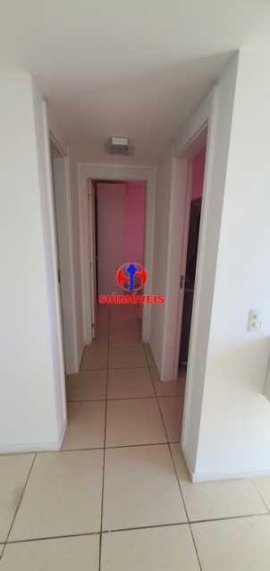 CORREDOR - Apartamento 2 quartos à venda São Cristóvão, Rio de Janeiro - R$ 410.000 - TJAP21214 - 11