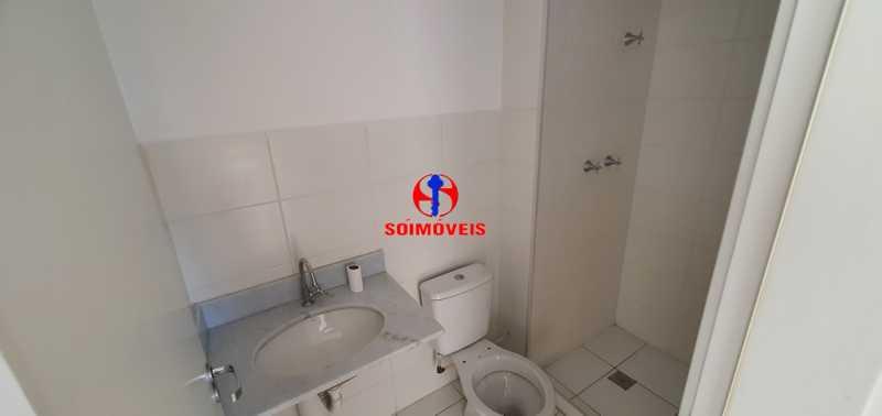 BANHEIRO SOCIAL - Apartamento 2 quartos à venda São Cristóvão, Rio de Janeiro - R$ 410.000 - TJAP21214 - 20