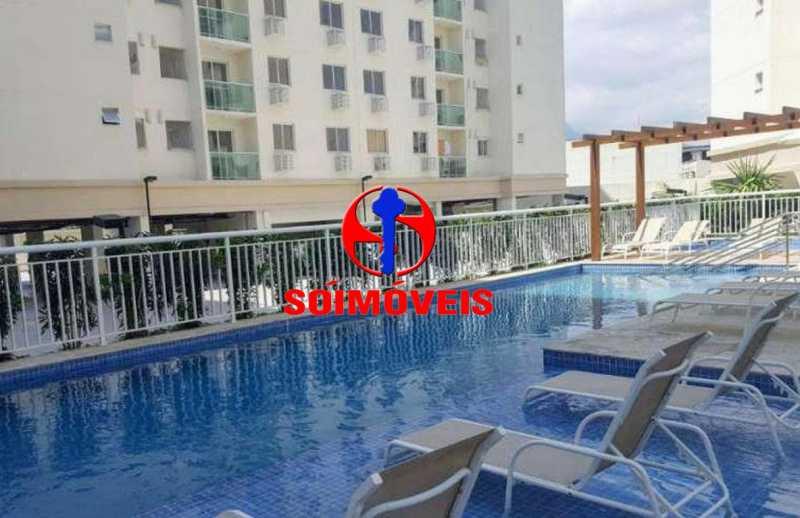 PISCINA - Apartamento 2 quartos à venda São Cristóvão, Rio de Janeiro - R$ 410.000 - TJAP21214 - 25