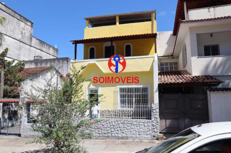 0-fac - Casa 4 quartos à venda Grajaú, Rio de Janeiro - R$ 730.000 - TJCA40036 - 1