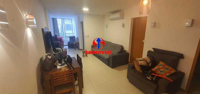 SALA - Apartamento 2 quartos à venda Copacabana, Rio de Janeiro - R$ 790.000 - TJAP21239 - 3