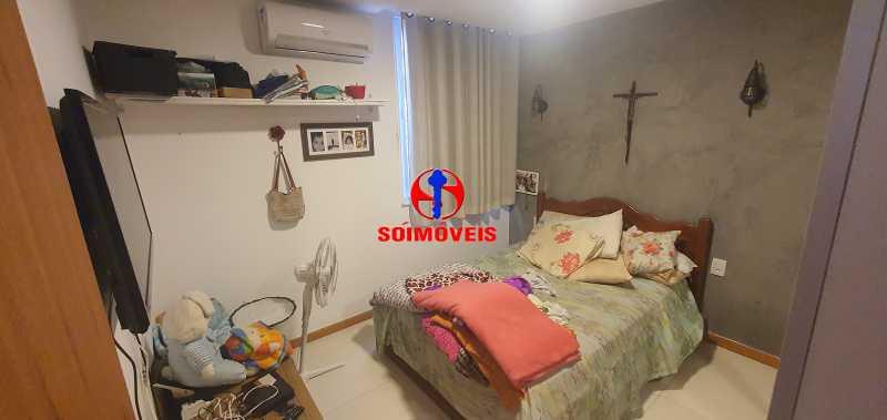 QUARTO - Apartamento 2 quartos à venda Copacabana, Rio de Janeiro - R$ 790.000 - TJAP21239 - 17