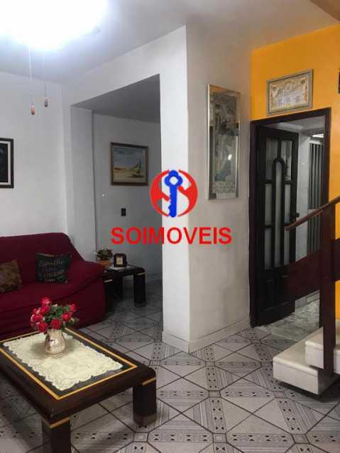 Sala - Casa de Vila 4 quartos à venda Tijuca, Rio de Janeiro - R$ 850.000 - TJCV40016 - 4