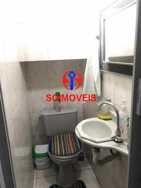 Lavabo - Casa de Vila 4 quartos à venda Tijuca, Rio de Janeiro - R$ 850.000 - TJCV40016 - 10
