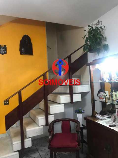 Acesso ao segundo andar  - Casa de Vila 4 quartos à venda Tijuca, Rio de Janeiro - R$ 850.000 - TJCV40016 - 11