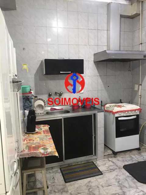 Cozinha - Casa de Vila 4 quartos à venda Tijuca, Rio de Janeiro - R$ 850.000 - TJCV40016 - 8