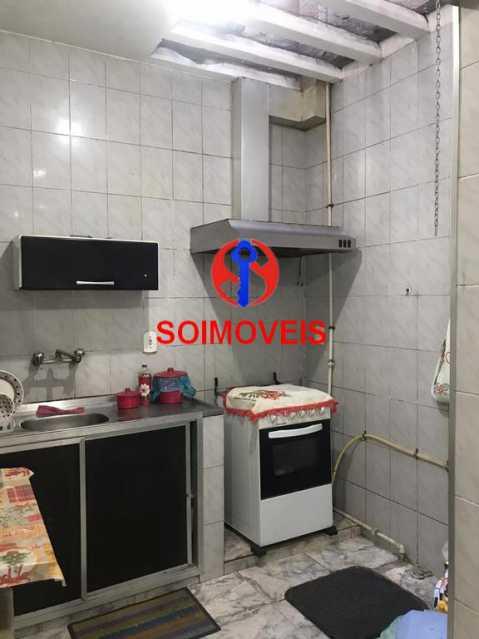 Cozinha - Casa de Vila 4 quartos à venda Tijuca, Rio de Janeiro - R$ 850.000 - TJCV40016 - 9