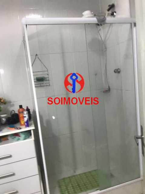 Banheiro social - Casa de Vila 4 quartos à venda Tijuca, Rio de Janeiro - R$ 850.000 - TJCV40016 - 18