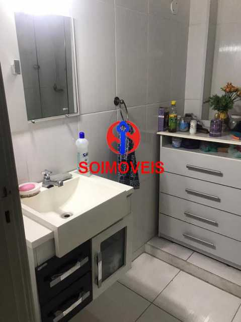Banheiro social  - Casa de Vila 4 quartos à venda Tijuca, Rio de Janeiro - R$ 850.000 - TJCV40016 - 17