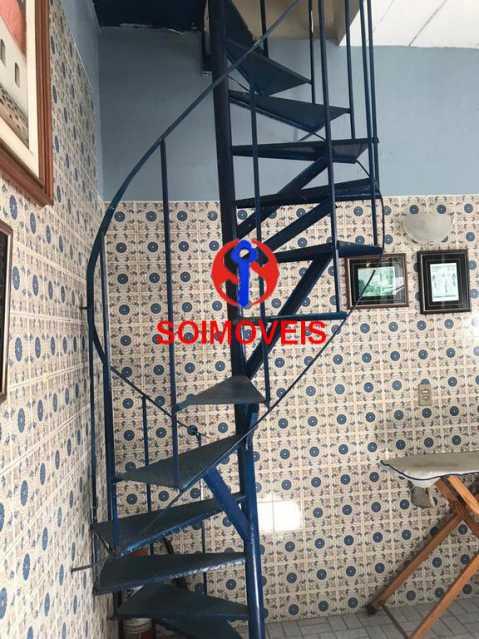 Escada caracol - Casa de Vila 4 quartos à venda Tijuca, Rio de Janeiro - R$ 850.000 - TJCV40016 - 25