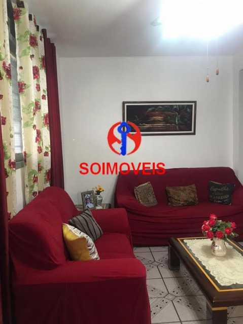 Sala - Casa de Vila 4 quartos à venda Tijuca, Rio de Janeiro - R$ 850.000 - TJCV40016 - 3