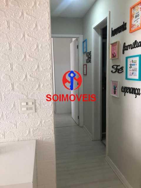 Acesso aos cômodos  - Apartamento 2 quartos à venda Todos os Santos, Rio de Janeiro - R$ 330.000 - TJAP21219 - 5