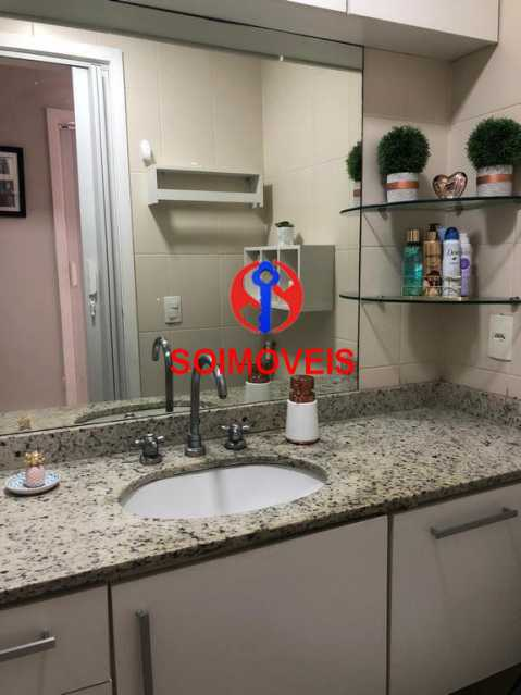 Banheiro social - Apartamento 2 quartos à venda Todos os Santos, Rio de Janeiro - R$ 330.000 - TJAP21219 - 13