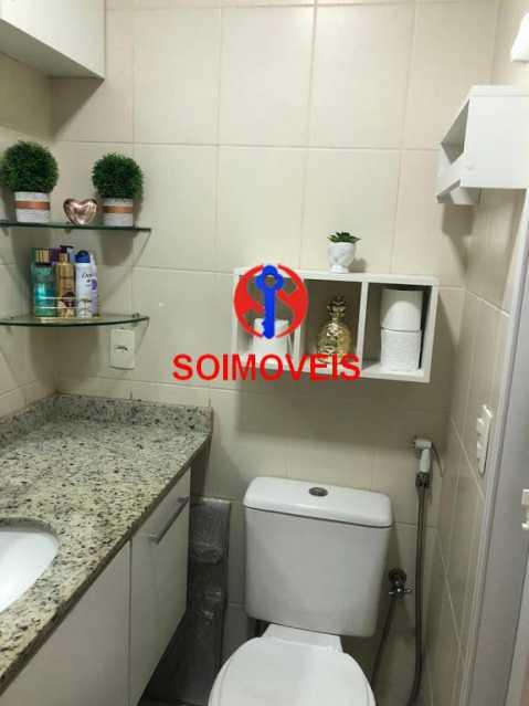 Banheiro social - Apartamento 2 quartos à venda Todos os Santos, Rio de Janeiro - R$ 330.000 - TJAP21219 - 14