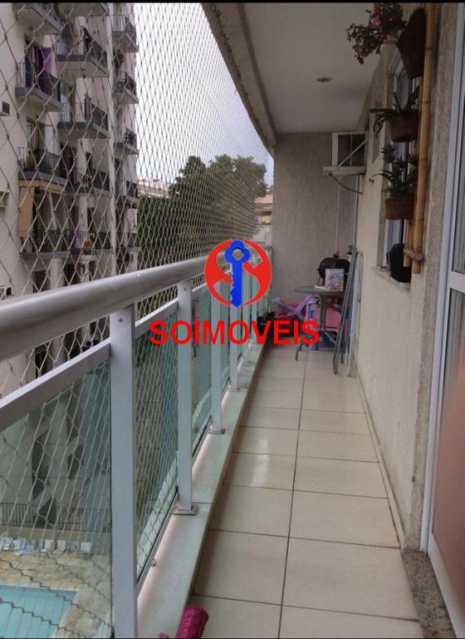 Varanda - Apartamento 2 quartos à venda Todos os Santos, Rio de Janeiro - R$ 330.000 - TJAP21219 - 16