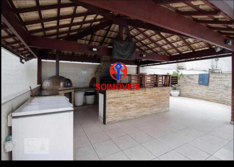 Churrasqueira - Apartamento 2 quartos à venda Todos os Santos, Rio de Janeiro - R$ 330.000 - TJAP21219 - 19