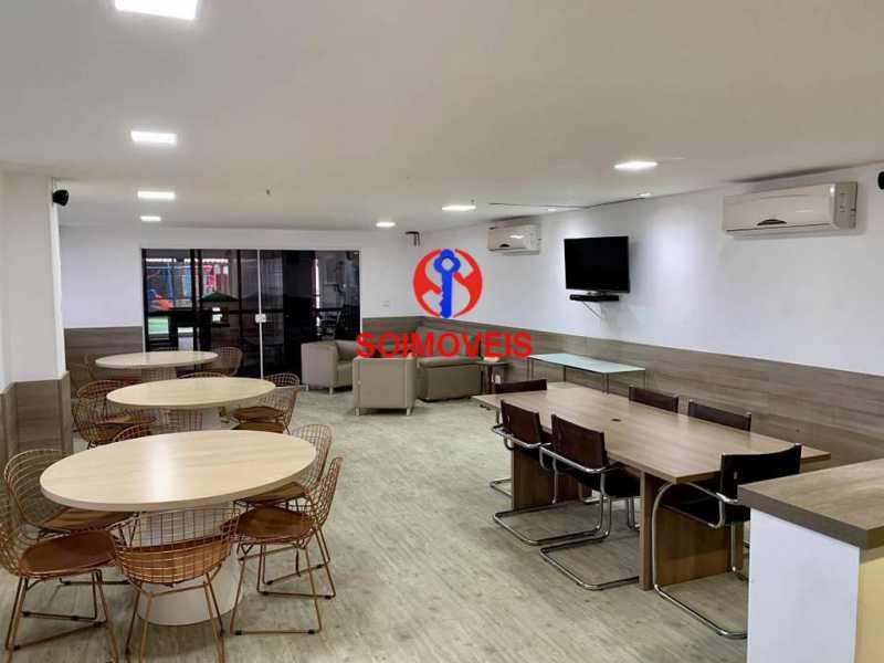 Salão de festa - Apartamento 2 quartos à venda Todos os Santos, Rio de Janeiro - R$ 330.000 - TJAP21219 - 21