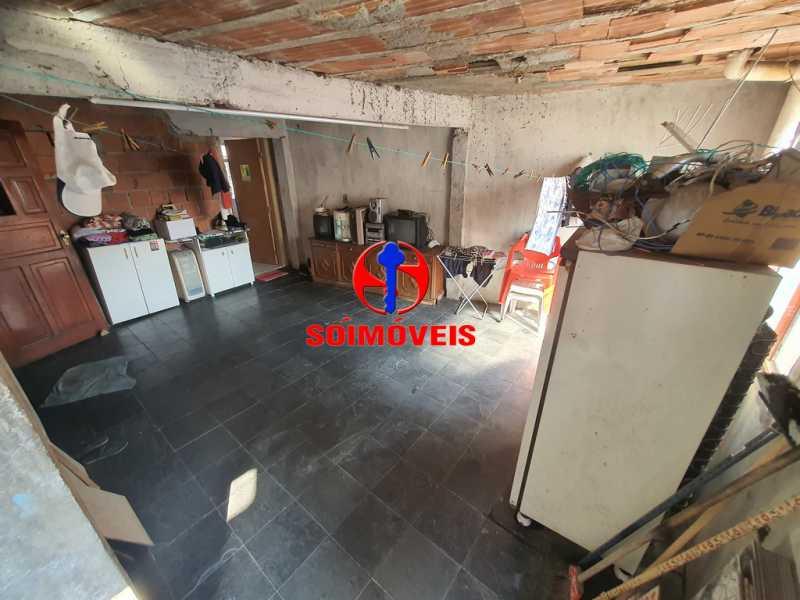 ÁREA COBERTA - Casa 5 quartos à venda Piedade, Rio de Janeiro - R$ 330.000 - TJCA50015 - 21