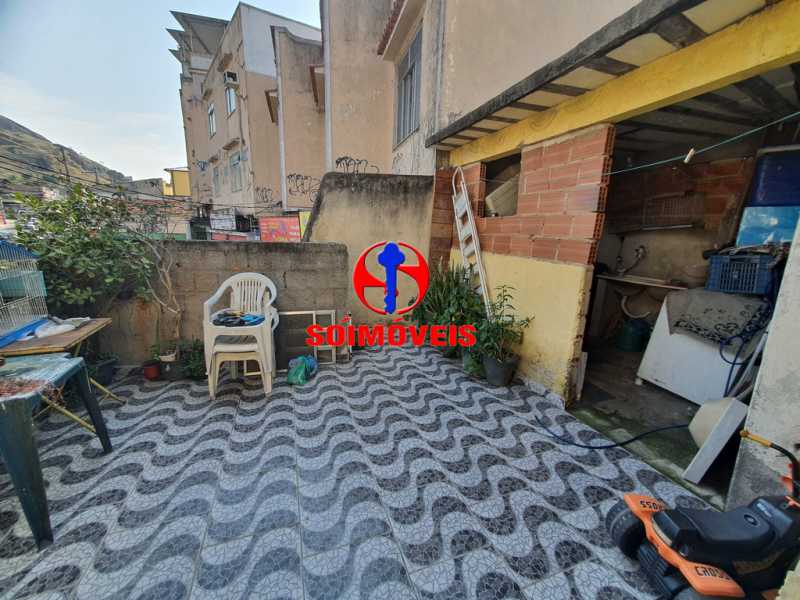 ÁREA DESCOBERTA - Casa 5 quartos à venda Piedade, Rio de Janeiro - R$ 330.000 - TJCA50015 - 22