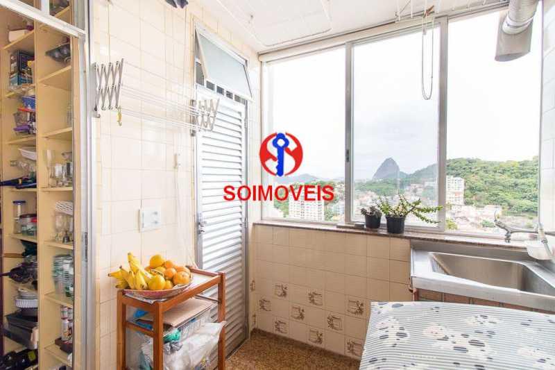 Aréa 2. - Apartamento 3 quartos à venda Laranjeiras, Rio de Janeiro - R$ 1.000.000 - TJAP30558 - 14