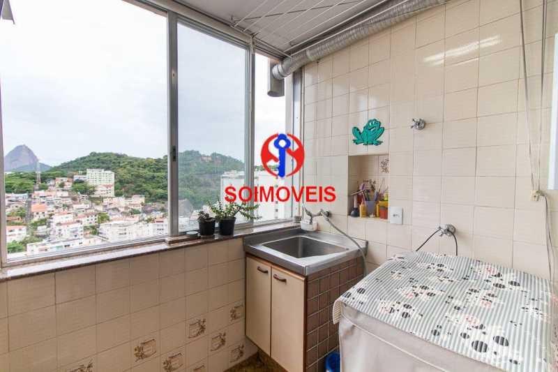 Aréa. - Apartamento 3 quartos à venda Laranjeiras, Rio de Janeiro - R$ 1.000.000 - TJAP30558 - 15