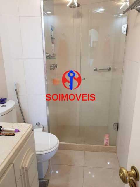Banheiro 2. - Apartamento 3 quartos à venda Laranjeiras, Rio de Janeiro - R$ 1.000.000 - TJAP30558 - 16