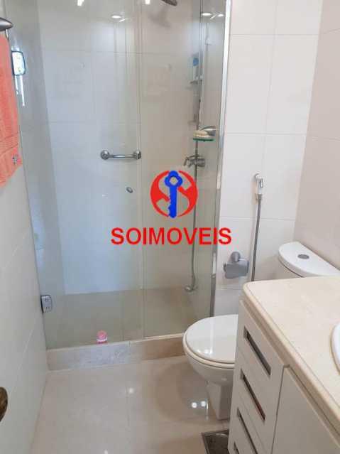 Banheiro 3. - Apartamento 3 quartos à venda Laranjeiras, Rio de Janeiro - R$ 1.000.000 - TJAP30558 - 17