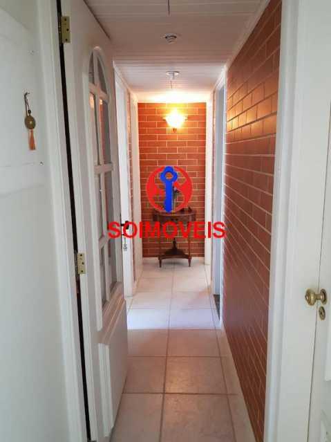 Corredor. - Apartamento 3 quartos à venda Laranjeiras, Rio de Janeiro - R$ 1.000.000 - TJAP30558 - 21