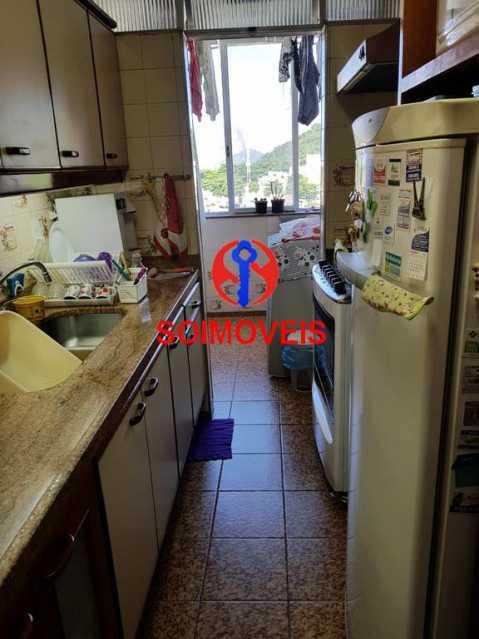 Cozinha. - Apartamento 3 quartos à venda Laranjeiras, Rio de Janeiro - R$ 1.000.000 - TJAP30558 - 13