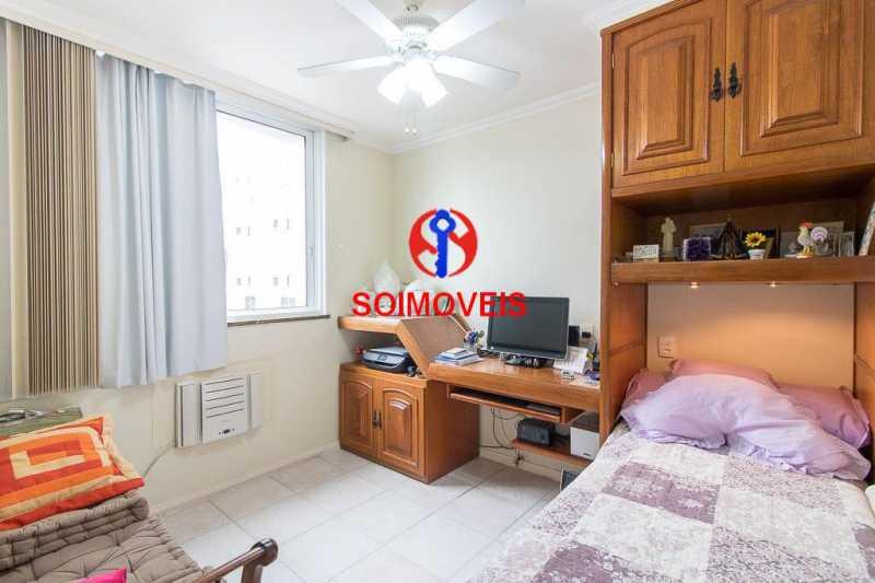 quarto 2. - Apartamento 3 quartos à venda Laranjeiras, Rio de Janeiro - R$ 1.000.000 - TJAP30558 - 7