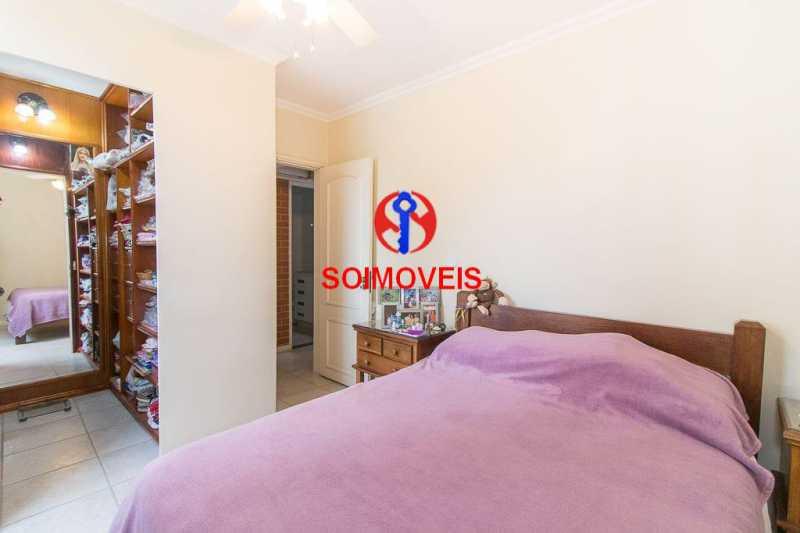 quarto 4. - Apartamento 3 quartos à venda Laranjeiras, Rio de Janeiro - R$ 1.000.000 - TJAP30558 - 9