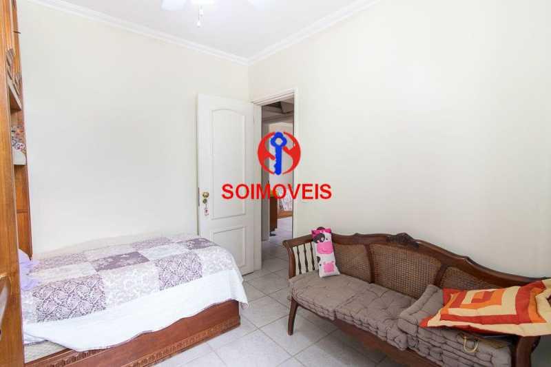 quarto. - Apartamento 3 quartos à venda Laranjeiras, Rio de Janeiro - R$ 1.000.000 - TJAP30558 - 6
