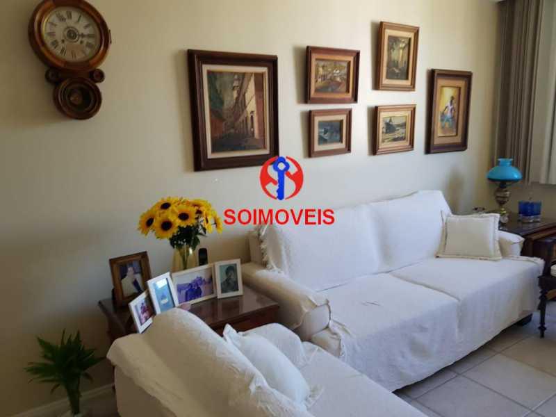 SALA 2. - Apartamento 3 quartos à venda Laranjeiras, Rio de Janeiro - R$ 1.000.000 - TJAP30558 - 4
